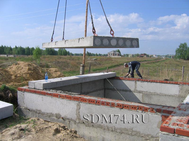 Фундамент под плиты перекрытия своими руками 23